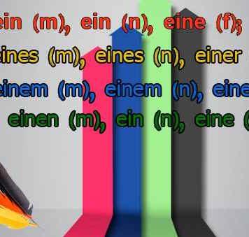 Артикль ein в немецком языке