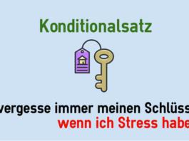 Konditionalsatz (Придаточное предложение условия)